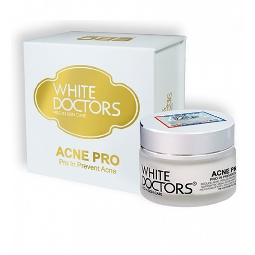 Kem trị mụn ngừa sẹo thâm White Doctors Acne Pro