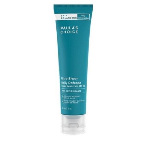 Sữa dưỡng ẩm chống nắng Paula's Choice Skin Balancing Ultra-Sheer Daily Defense SPF 30