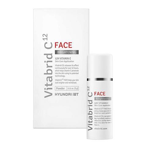 Bột vitamin C VITABRID C12 dưỡng trắng da - trị thâm nám - ngừa lão hóa - VITABRID C12 Face Brightening Powder 3g