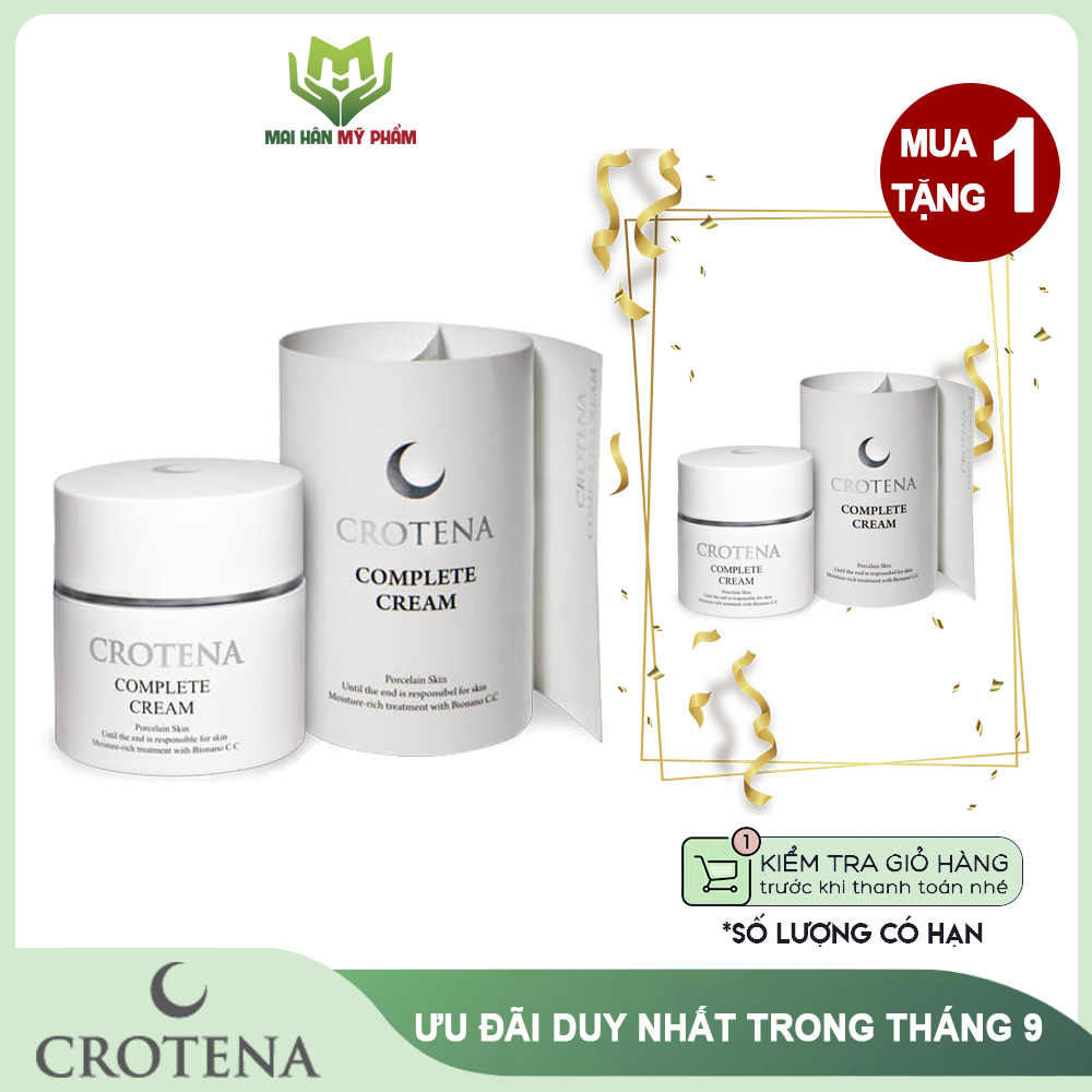 Kem chống nắng dưỡng da che khuyết điểm Crotena CC 3 trong 1