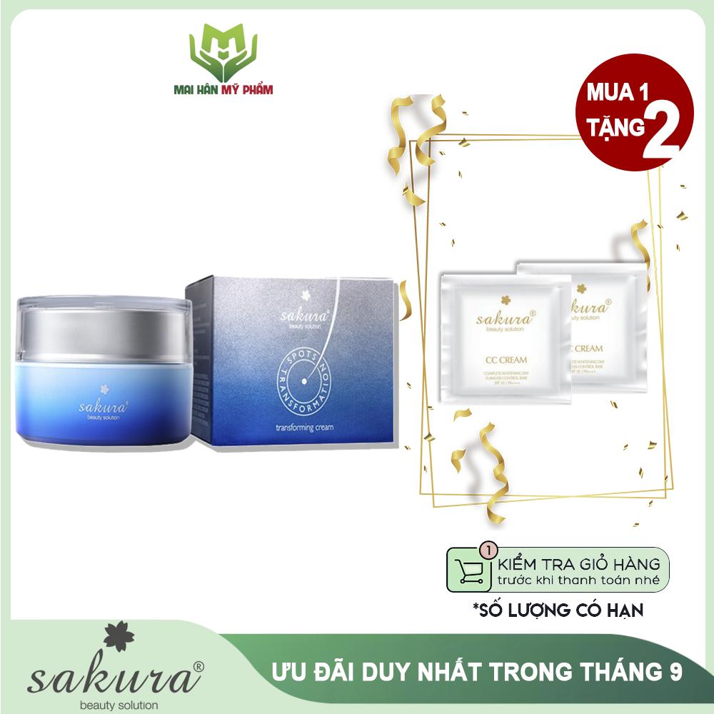 Kem trị nám Sakura Transforming Cream 30g