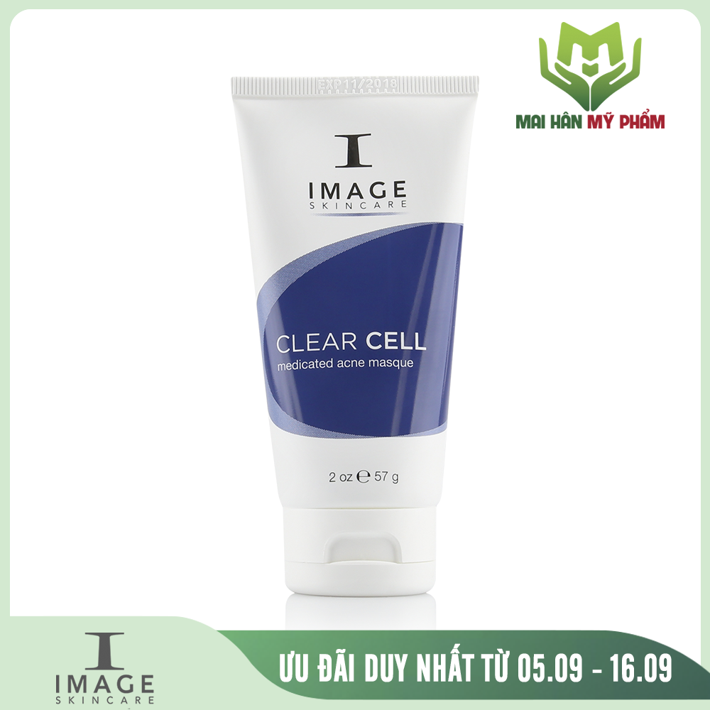 Mặt nạ giảm nhờn trị mụn Image Clear Cell Medicated Acne Masque