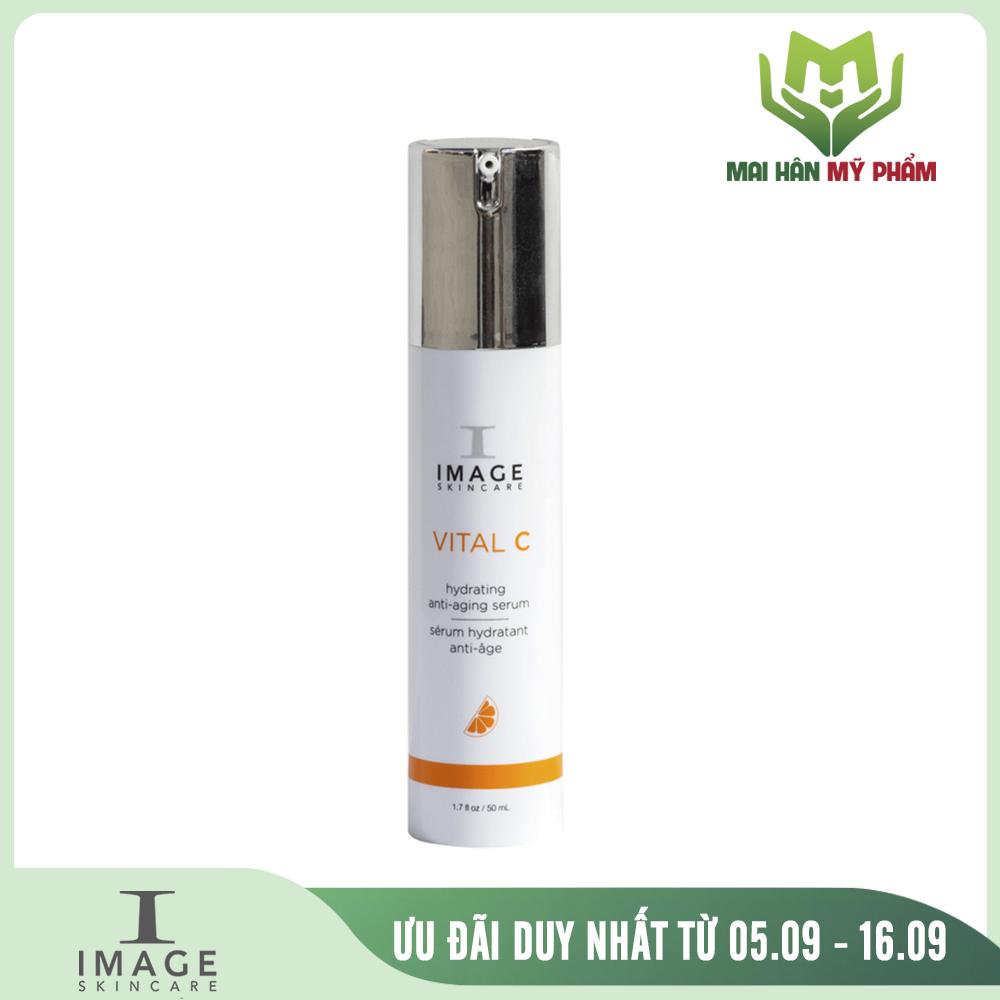 Serum dưỡng ẩm chống oxy hóa Image Vital C Hydrating Anti-Aging Serum