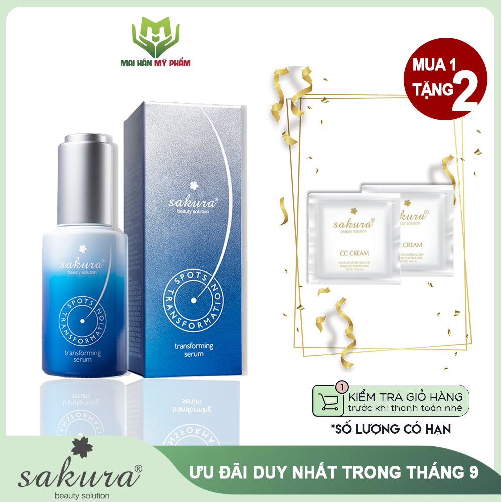 Serum trị nám cao cấp Sakura Transforming Serum