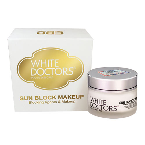 Kem chống nắng trang điểm mặt White Doctors Sun Block Makeup