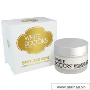 Kem ngừa thâm mụn làm trắng da White Doctors Spotless Acne 25g