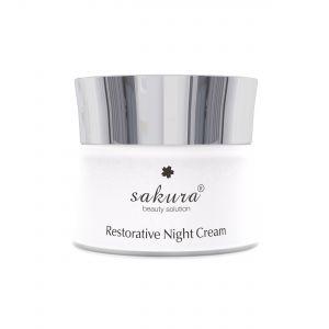 Kem dưỡng phục hồi chống lão hóa da ban đêm Sakura Restorative Night Cream